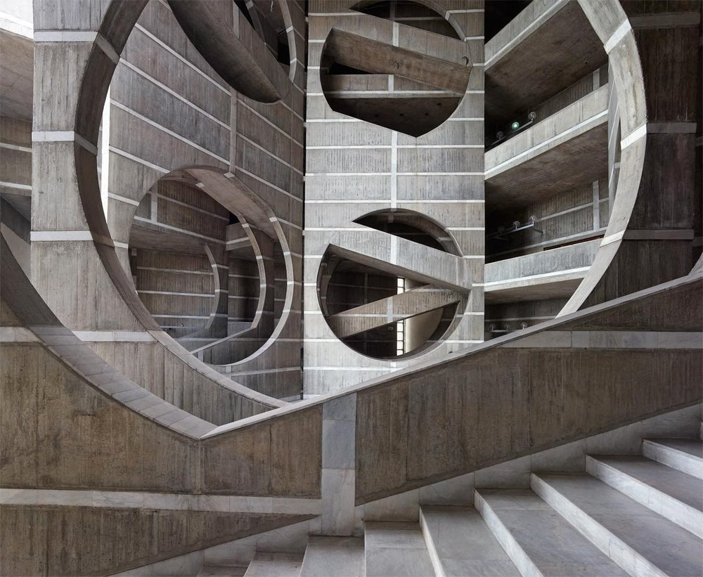 Naquib Hossain, National Assembly Building in Dhaka, Bangladesh, Louis Kahn, 1962-83