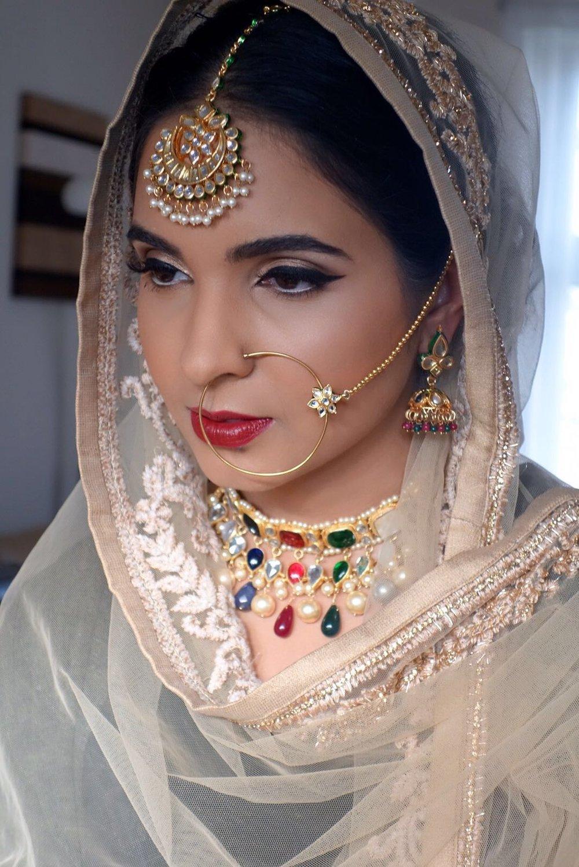 Make up:  Patti Pannu   Jewellery:  Red Dot Jewels