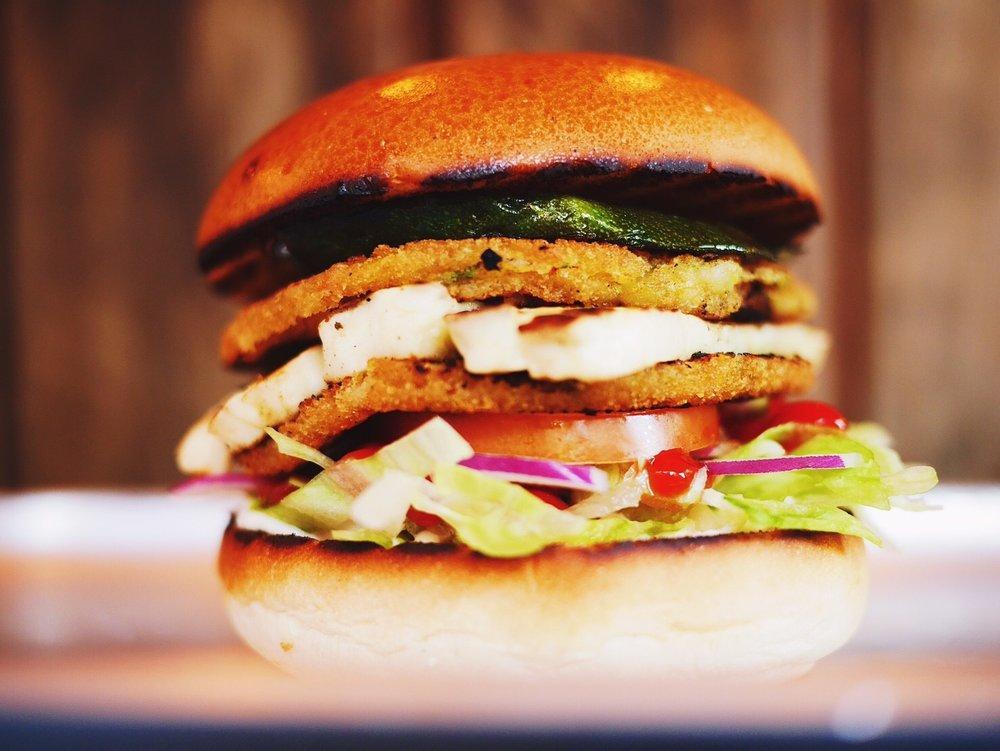 Singtong Veggie Burger