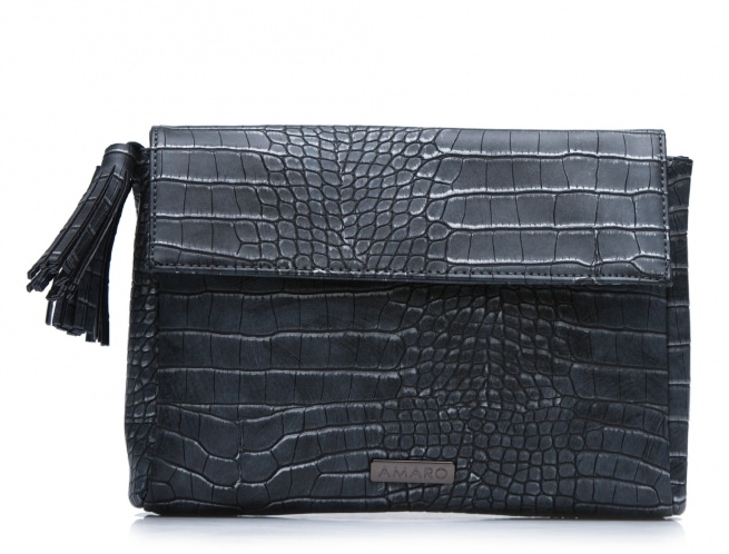 Clutch Envelope Croco, R$ 139,90