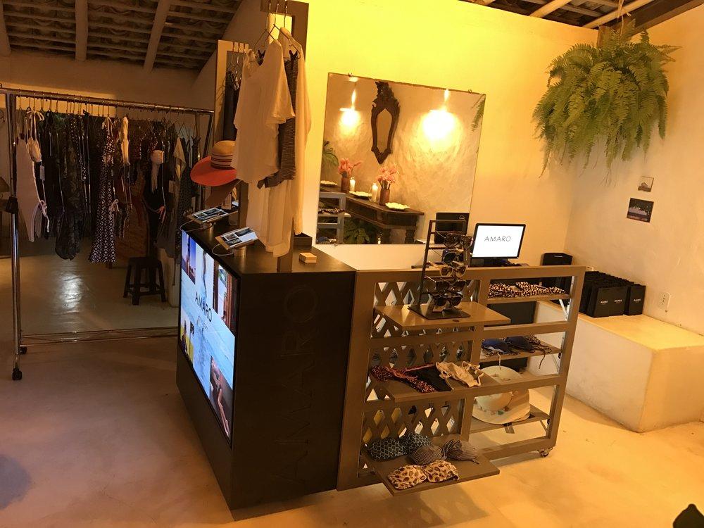 A popup store da AMARO na Casa Glamurama - Foto: reprodução/Glamurama