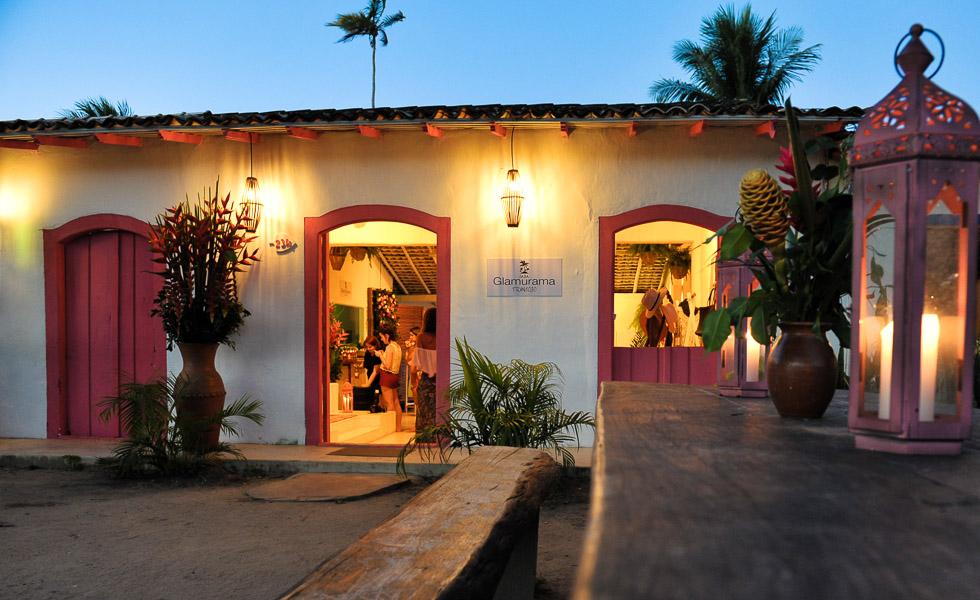 A Casa Glamurama, localizada no Quadrado, em Trancoso, na Bahia -Foto: reprodução/Glamurama