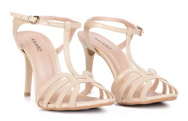 Sandália Salto Fino Multi Strap, R$ 149,90