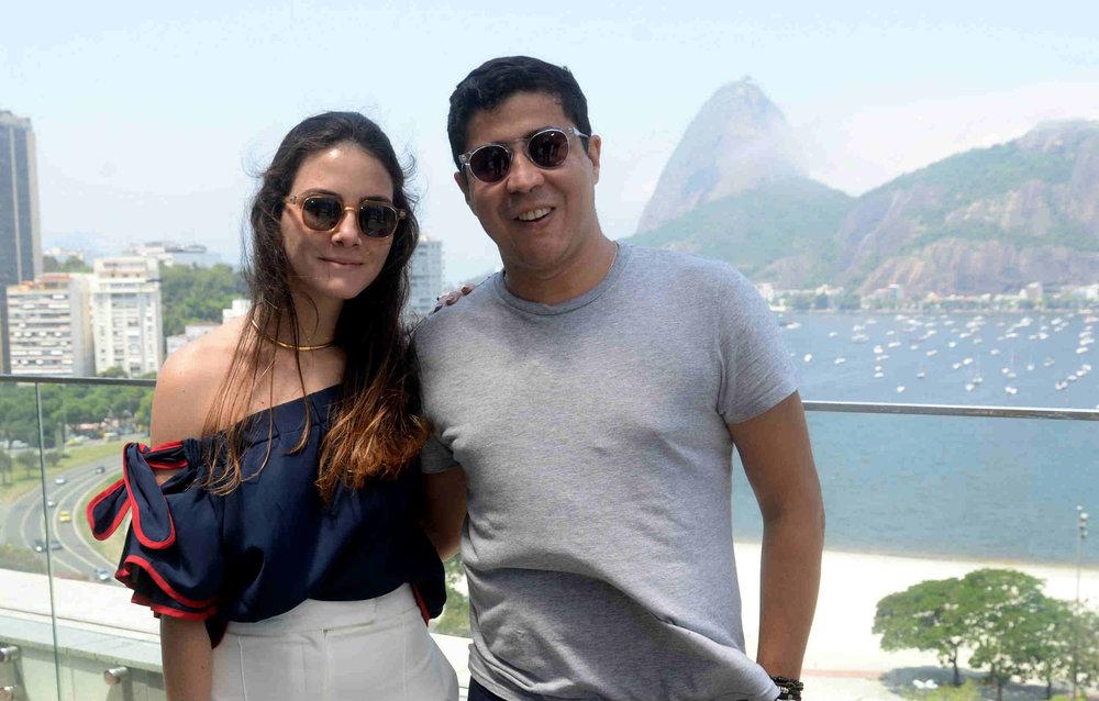 Camila Assreuy e Diógenes Queiroz