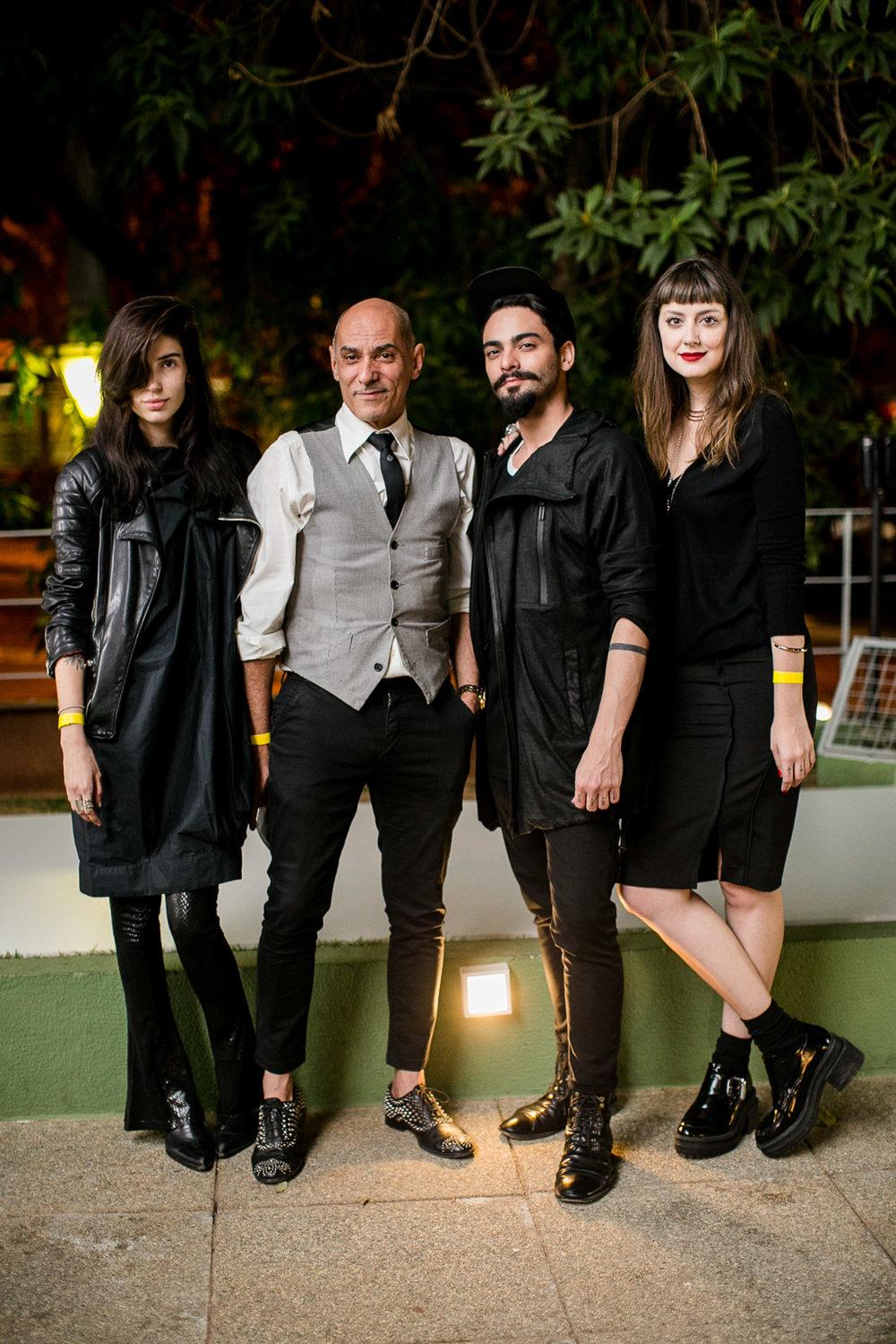 Ana Sofia Meinberg, Zeca Perdigão, Leopoldo Gurgel e Bruna Foureaux - Foto:Barbara Dutra