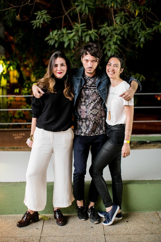 Camila Assreuy, Gregório Reis e Renata Jay - Foto: Barbara Dutra
