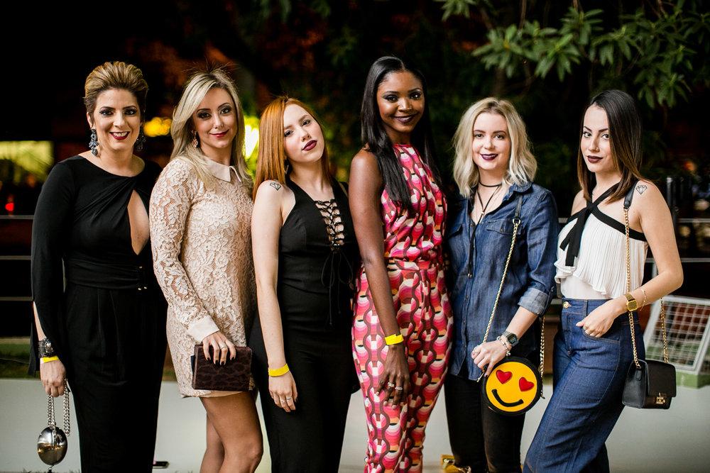 Alessandra Faria, Josi Queiroga, Geissi Alves, Carla Sidonio, Flavia Marques e Fran Alves - Foto:Barbara Dutra
