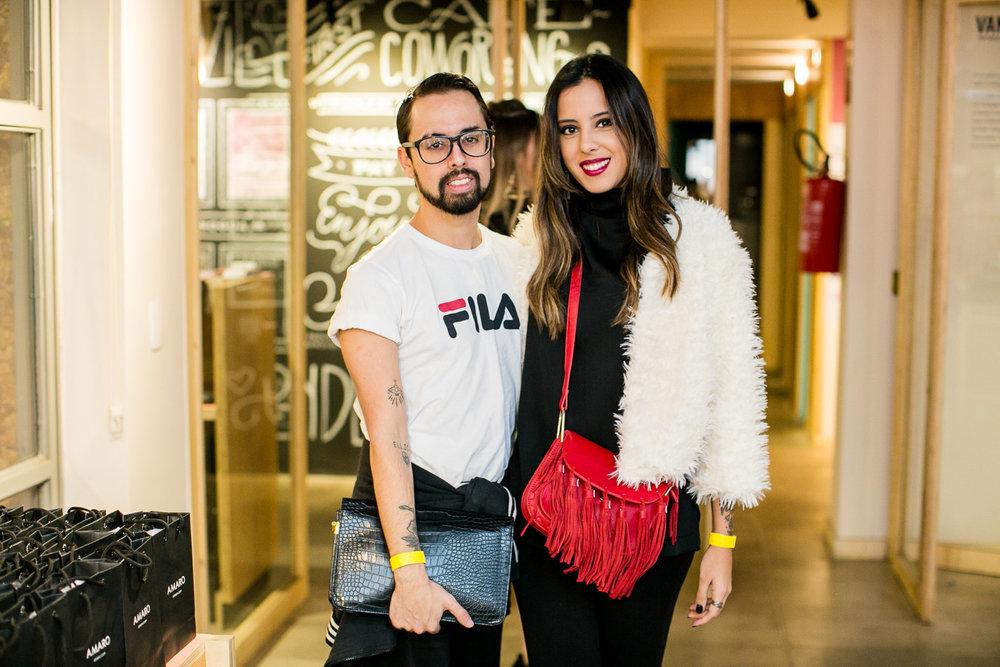 Vinicius Glico e Luiza Ferraz - Foto:Barbara Dutra