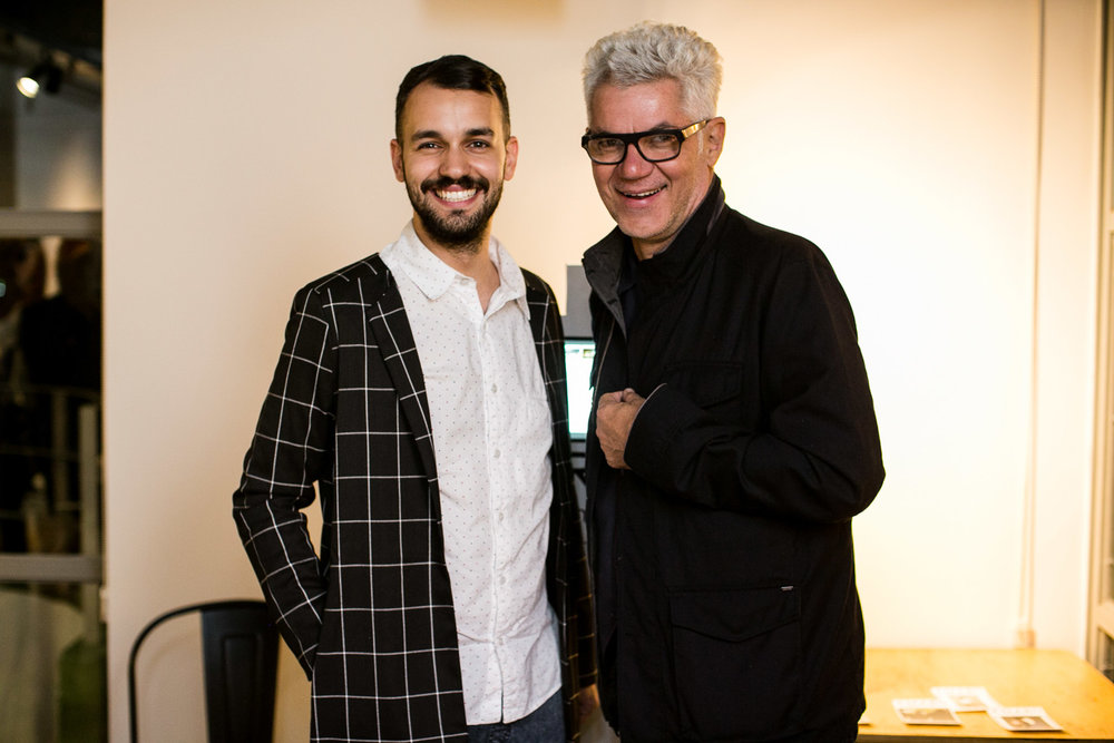 Lucas Durães e Marcelo Blade - Foto:Barbara Dutra