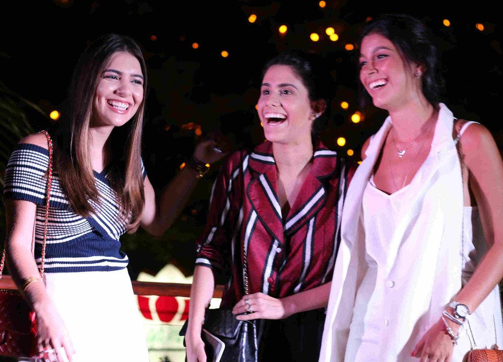 Marina Brandão, Natália Nogueira e Paloma Fiuza - Foto:In Voga