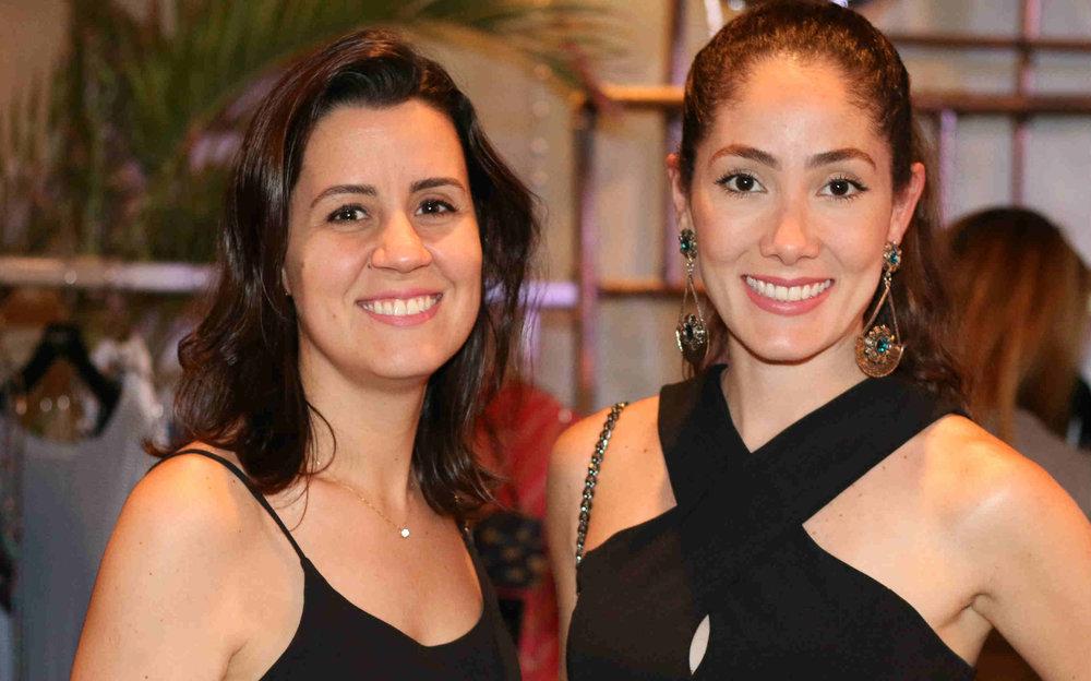 Renata Almeida e Marcela Almeida - Foto:In Voga