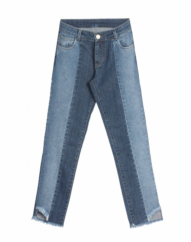 Calça Jeans Patchwork, R$ 179,90