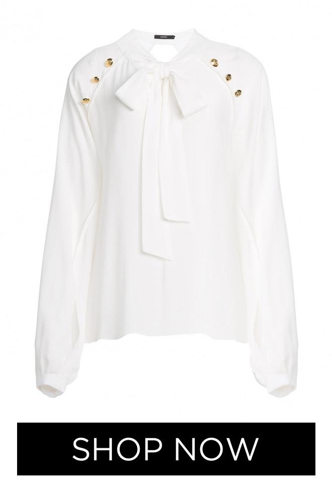 Blusa Viscose com Botões, R$ 179,90