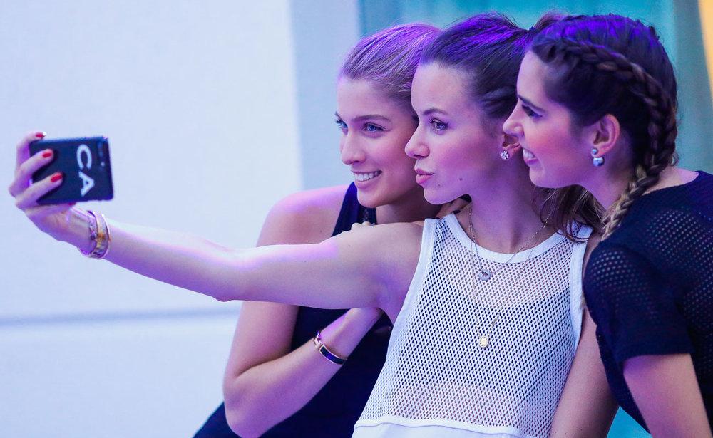 Selfie time! - Foto: Celso Junior