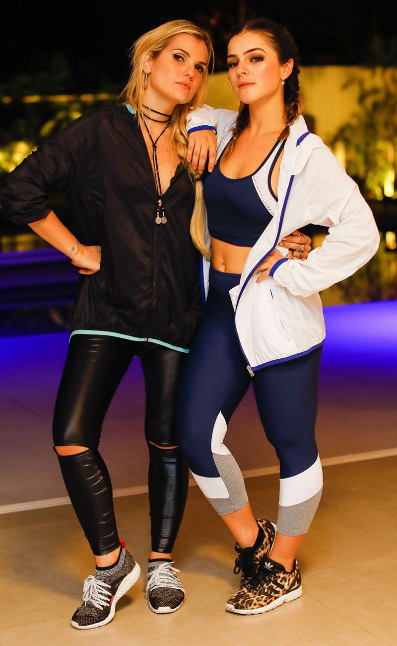 Isadora Campos e Luisa Peleja vestido suas escolhas da linha #AMAROactive - Foto: Celso Junior