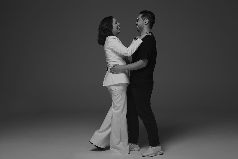 Mariana Torres e Bruno Tatsumi