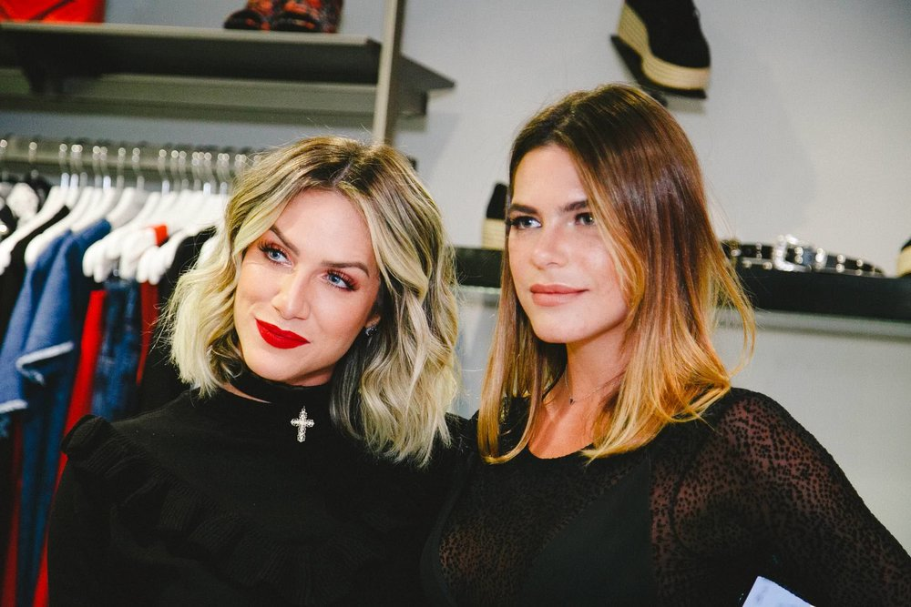 Giovanna Ewbank e Mariana Goldfarb