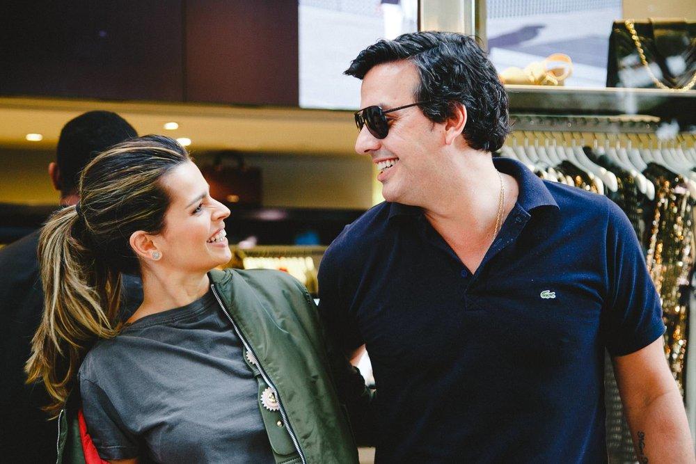 Liza Canha e Ricardo Dale