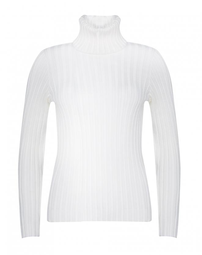 Suéter gola alta branco AMARO