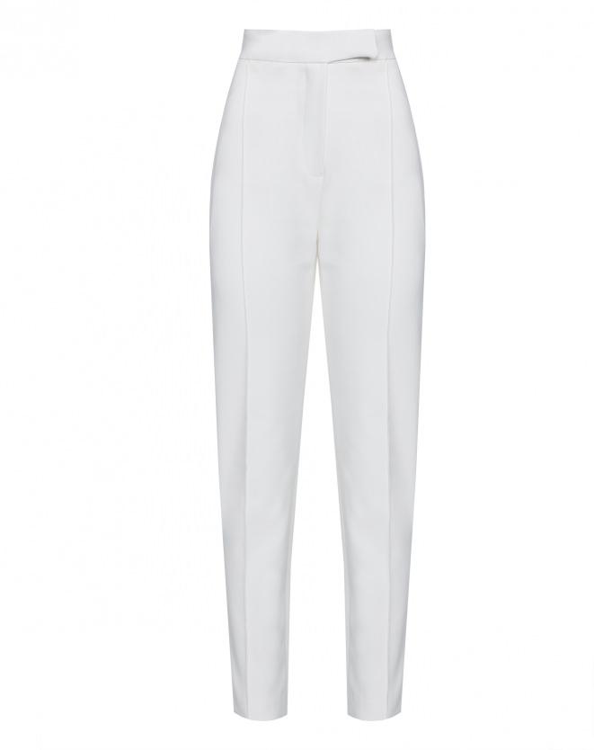 Calça branca de alfaiataria