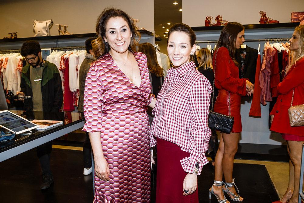 Claudia Krauspenhar e Thayna Pozzobon