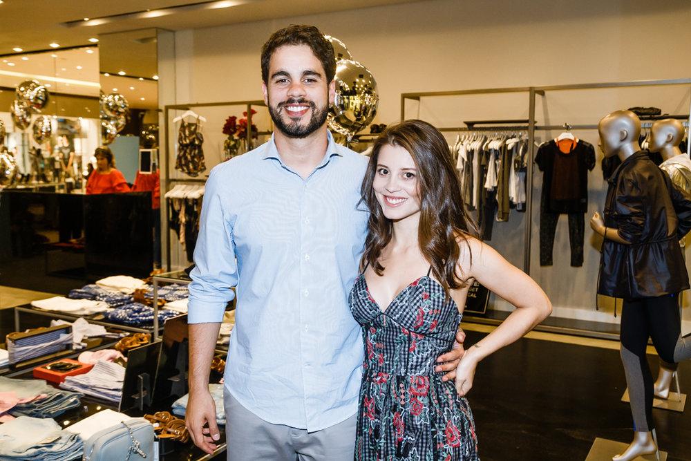 Daniel Sandes e Renata Schaitza