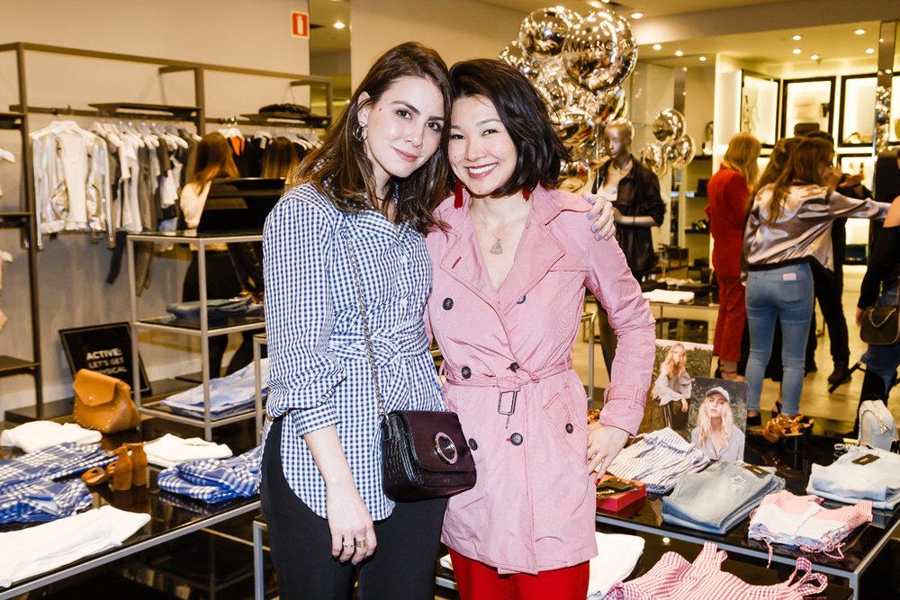 Camila Assreuy e Sandra Hayashida