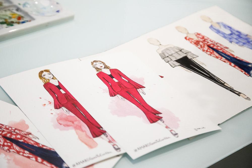 Sketches by Thaíssa Esteves