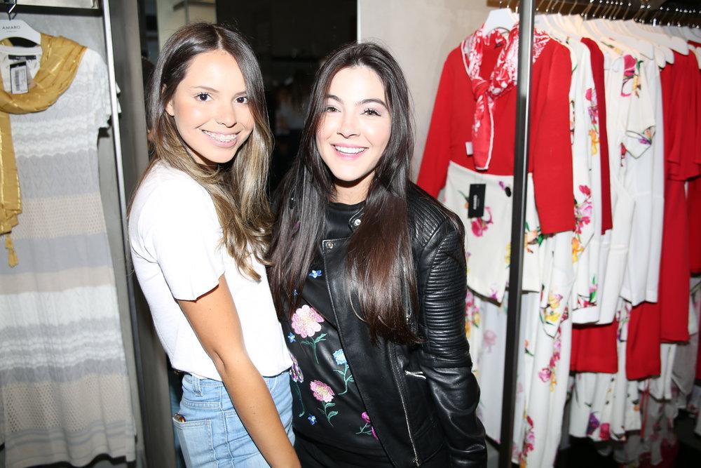 Barbara Nassaro e Kamilla Almeida