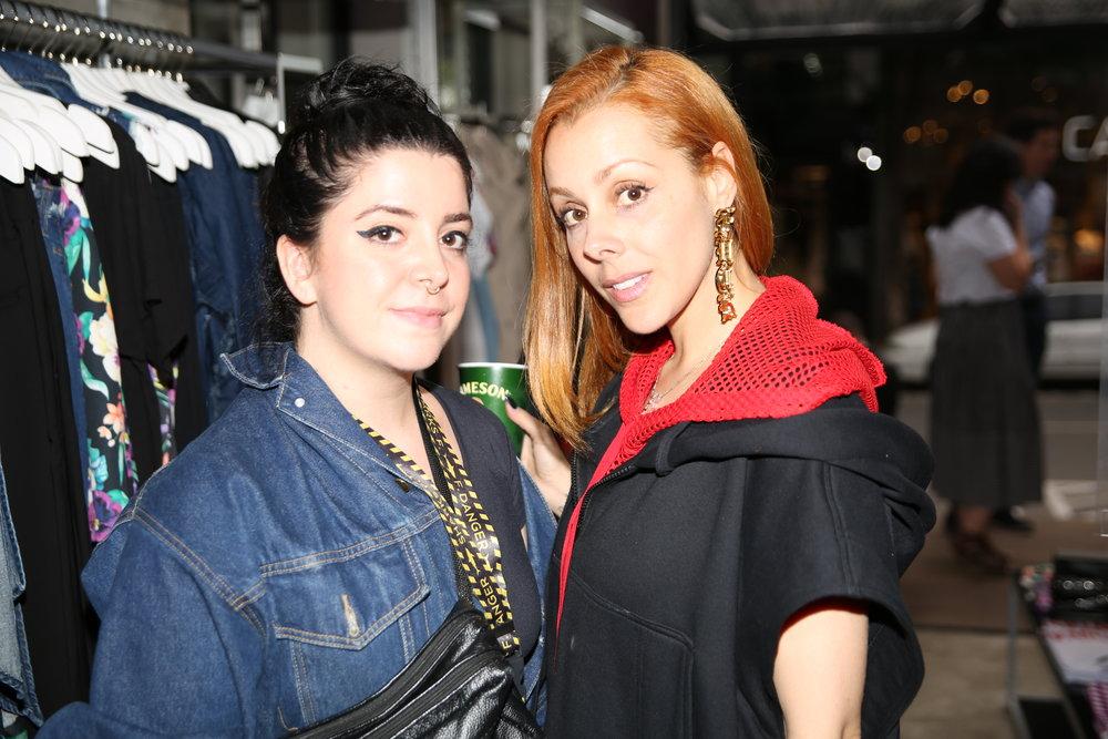 Natália Tiano e Anna Boogie