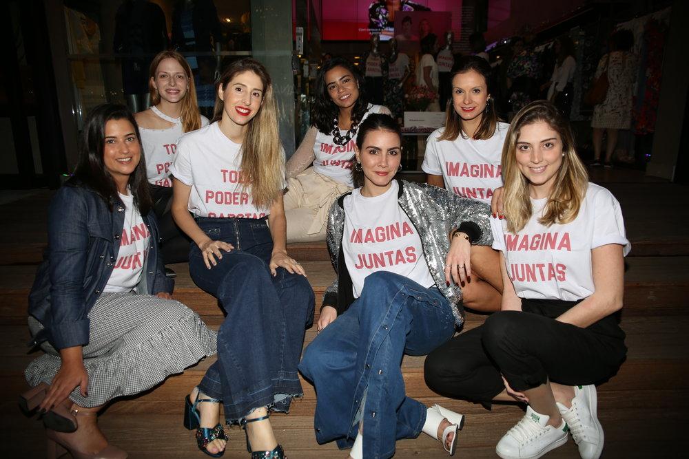 Time Glamour e Camila Assreuy