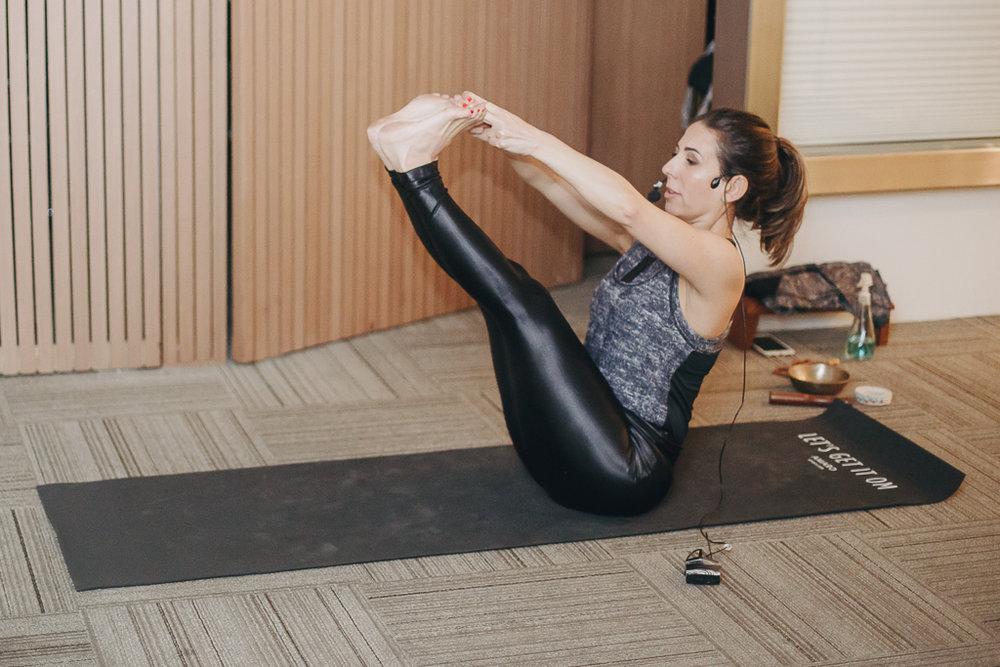 A yogini Cristiane Esteves