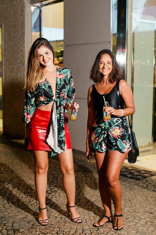 Camila Brunetto e Bruna Braga
