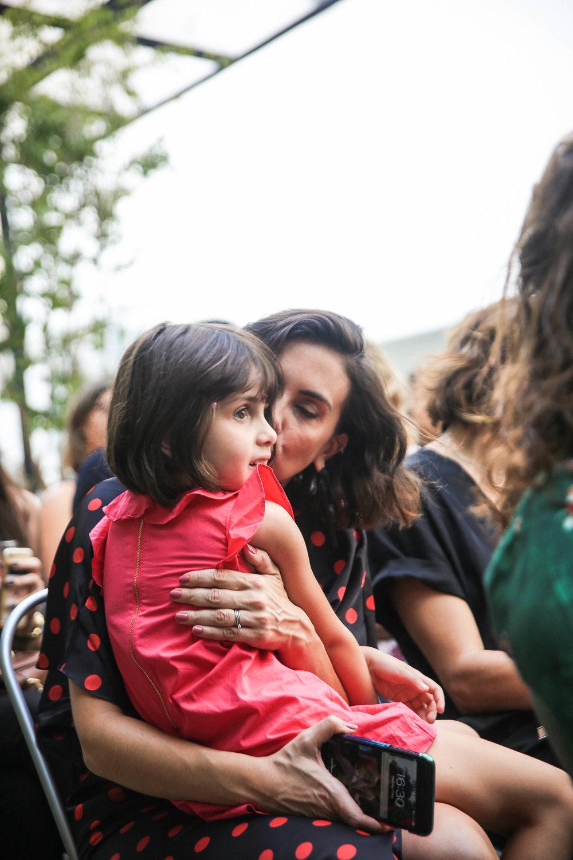 Camila Lima e filha