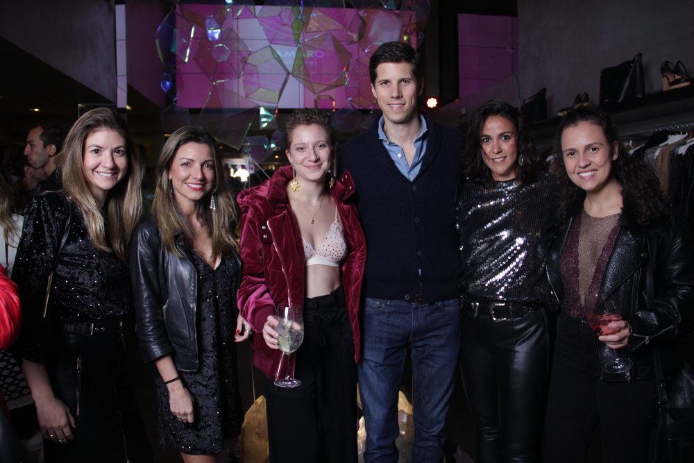 Juliana Zampini, Daniela Marques, Julie Szlak, Dominique Oliver, Anay Zaffalon e Ana Valadão