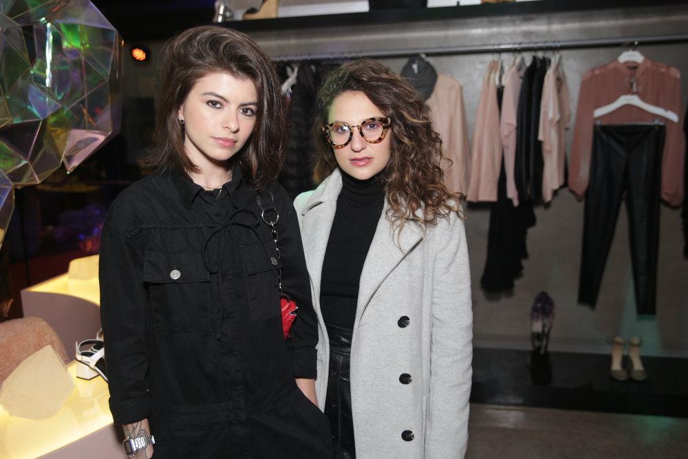 Tainá Britto e Naiara Zolli