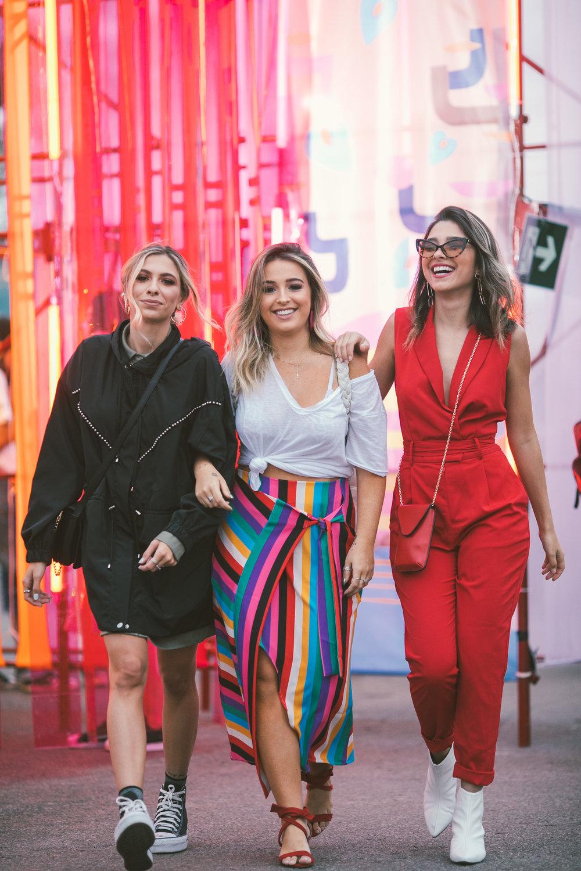 Monique Morais, Joana Costar e Olivia Mucida