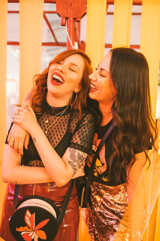 Fran e Geissi Alves