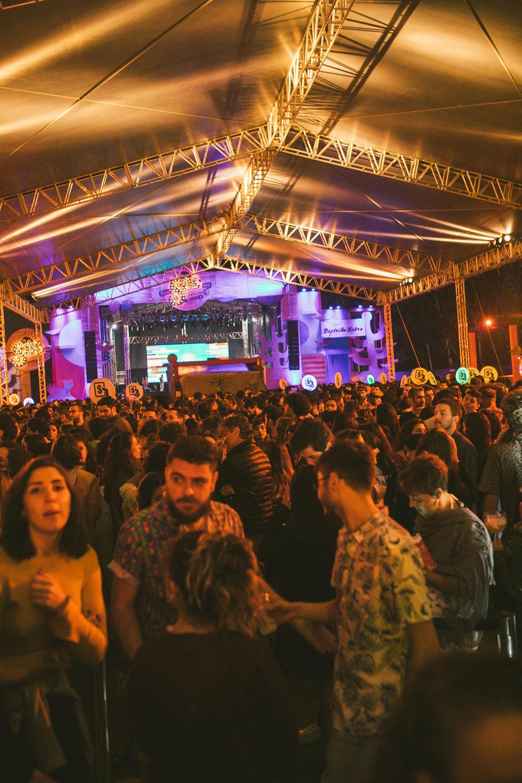 Agito rolando solto no Festival, que em um final de semana reuniu 12,5 mil pessoas