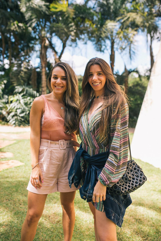 Nathália Junqueira e Juliana Tolentino