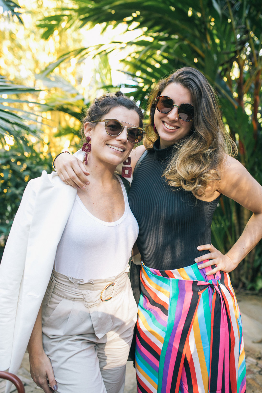 Carolina Faria e Fernanda Abreu