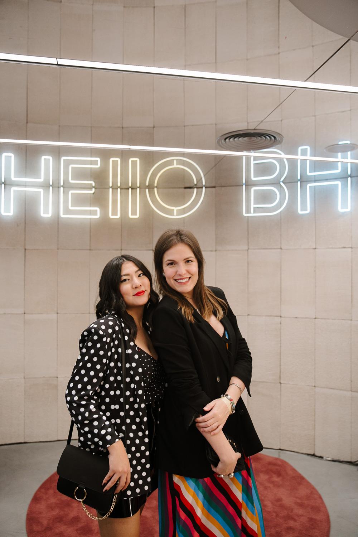 Adriana Yukie e Bia Perotti