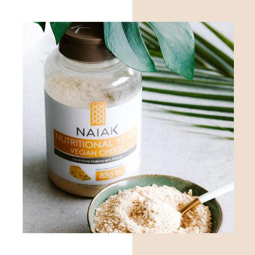 NAIAK NUTRITIONAL YEAST - VEGAN CHEESE