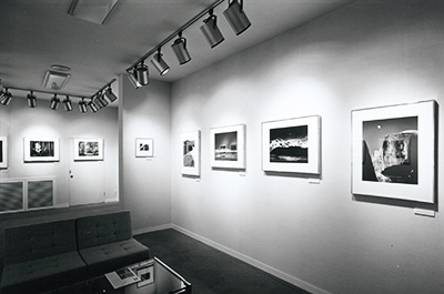 Exhibition of Ansel Adams' photographic works hosted by PGI (1980)