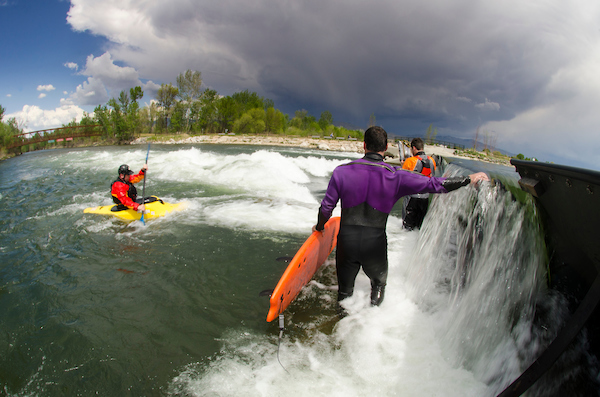 Boise's popular Whitewater Park, on the banks of Waterhouse Row, will expand beginning in November, 2017.