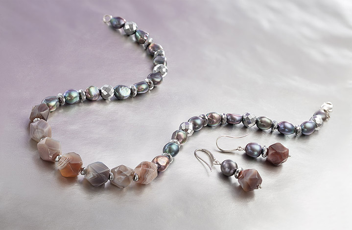 ROCK SOLID - VITALITY EXTENDED Bring on the volume in our new Rock Solid collection! With oversized cut stones, Sterling Silver, and removable enhancers this pearl jewelry is sure to make a statement. Go big or go home we say!