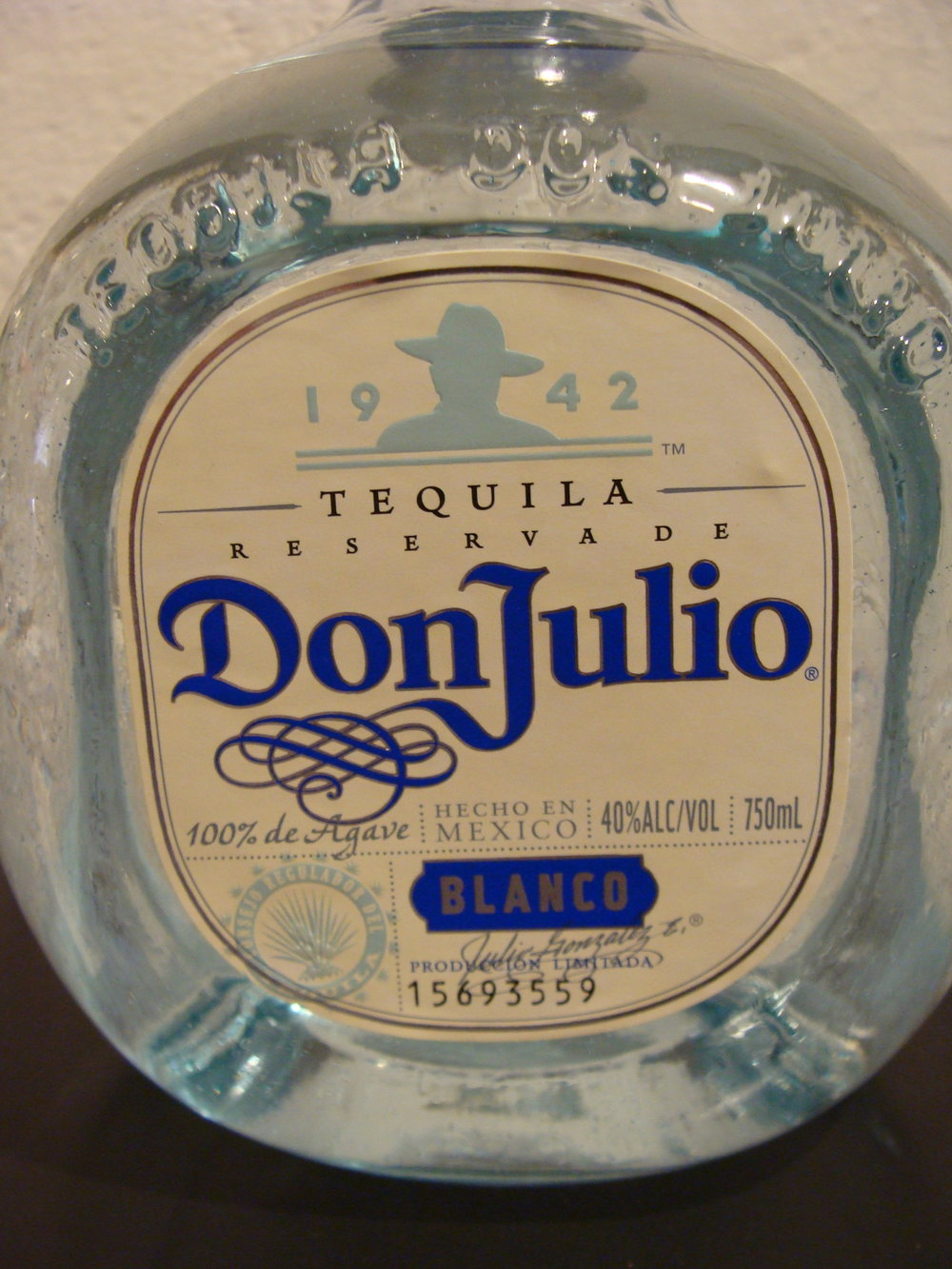 Don Julio Blanco Tequila Mayhew Wine Shop
