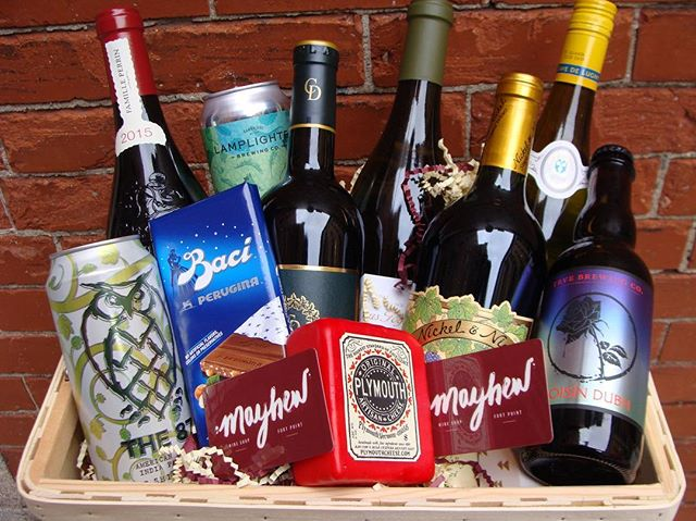 We hope everyone had a great #Thanksgiving filled with delicious food and wine. Forget waking up early and fighting the crowds this #BlackFriday. Let us do the shopping for you this year!  Call us or visit our website to get a custom #giftbasket for any occasion. . . . #pouronpoint #mayhewwineshop #wineshop #blackfriday #fortpoint #boston #holidaygifts #holidayshopping #wine #beer #cocktail #customize #bostonfood #bostonwine #shoptilyoudrop #holidayseason