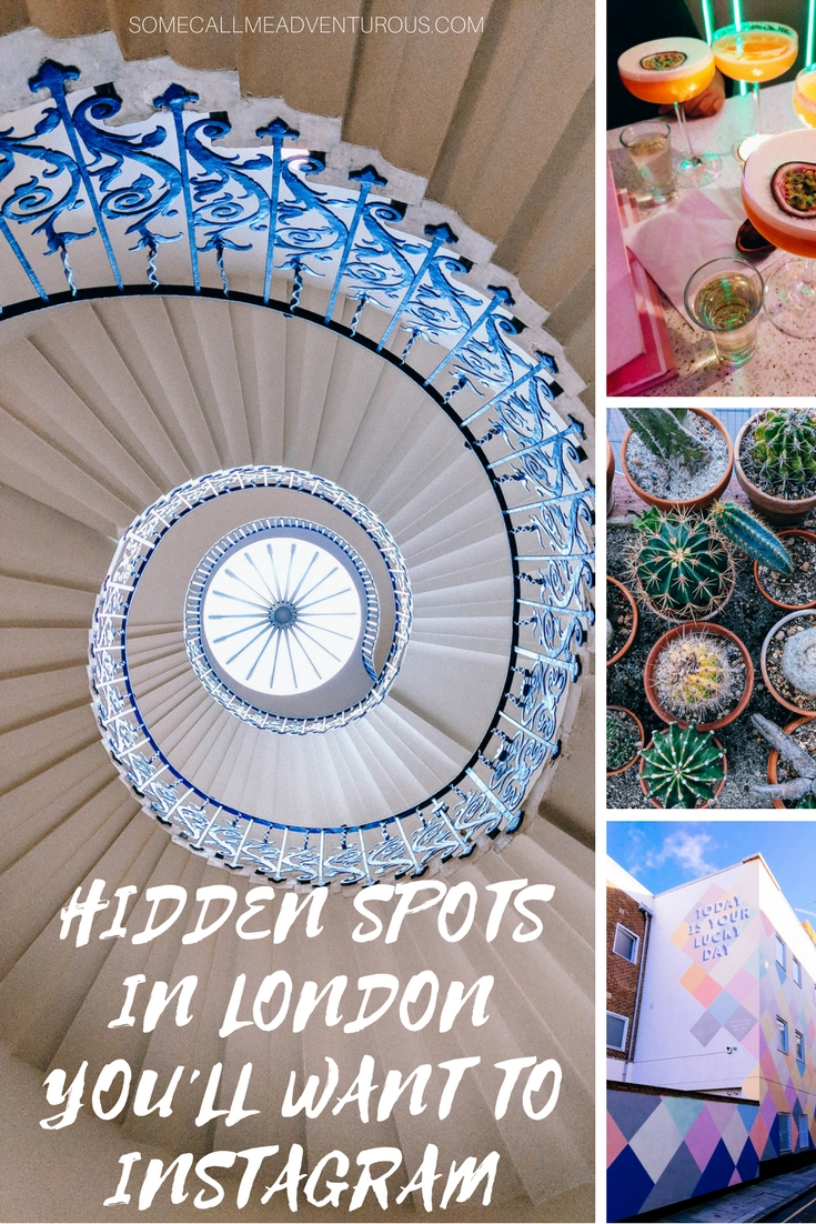 Hidden Spots in London You'll Want to Instagram