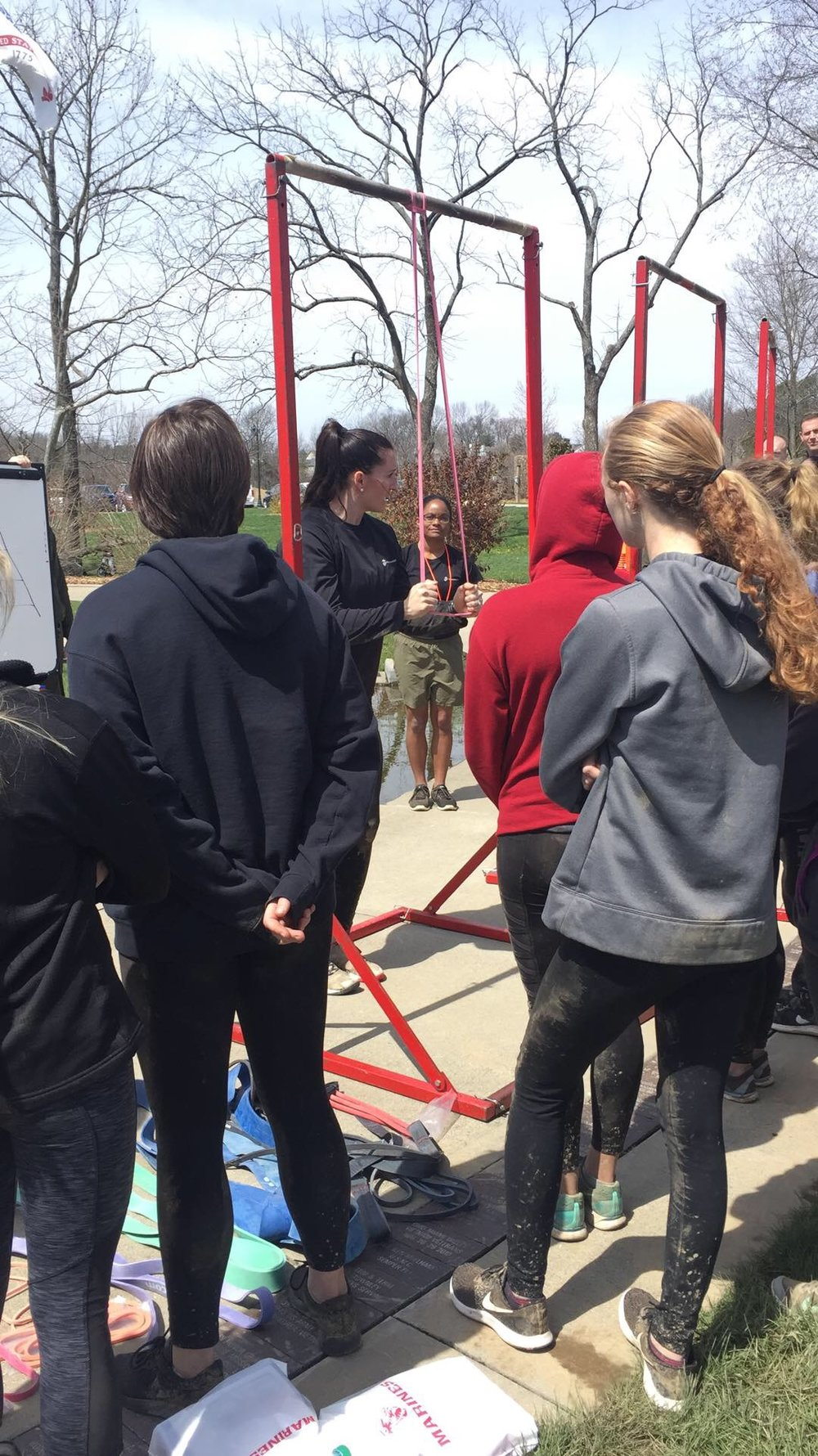 """Recruiting Station Louisville Women's Weekend - """"I brought her out for our Female Leadership Seminar/Poole Function last weekend and it was a huge success. What she brought to the event was invaluable and there are things we are incorporating into our High Risk Program as a result."""" -Commanding Officer of Recruiting Station Louisville Major Culver USMC (March 2018)"""